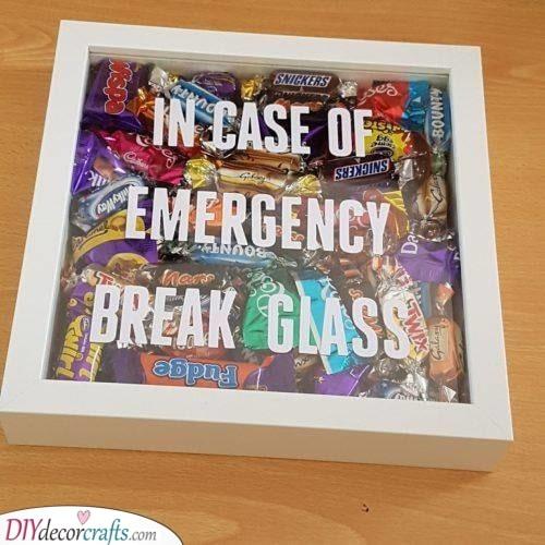 Break the Glass - In Case of Chocolate Emergency