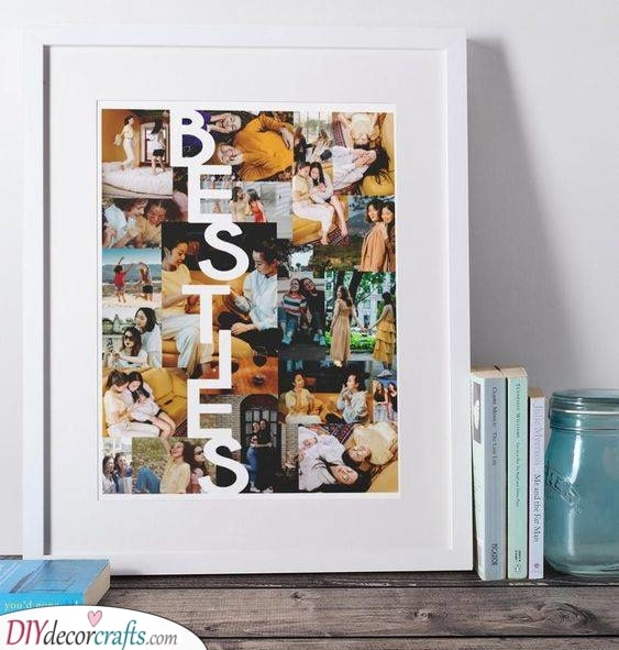A Custom Collage - Personalised Gifts for Friends