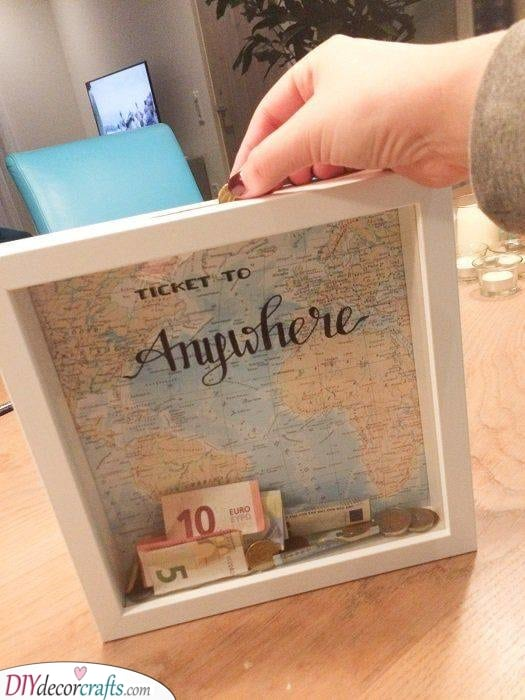 Collecting for Travel - Best Friend Present Ideas