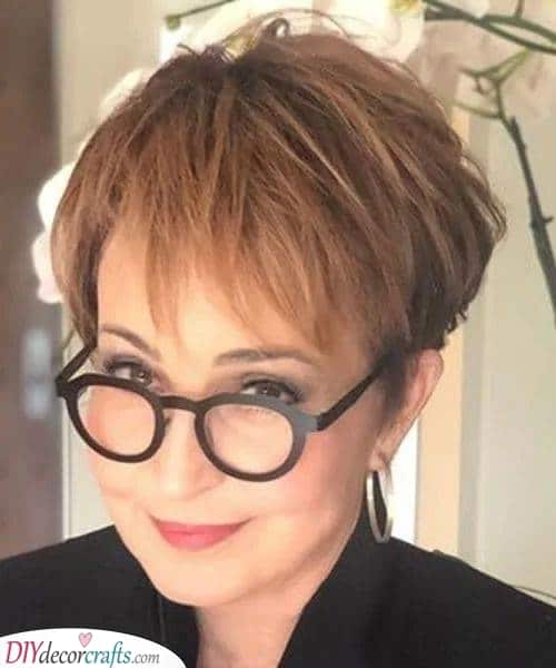 Fun and Flattering - Short Hairstyles for Older Women