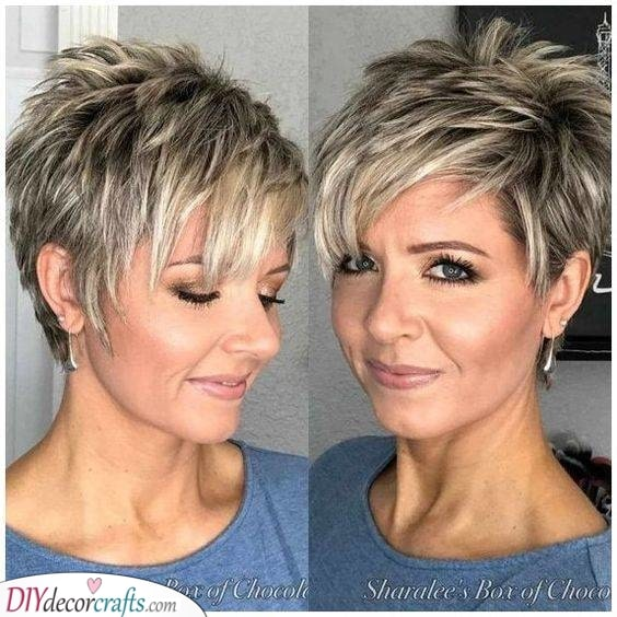 Adding Highlights - To Your Cute Pixie