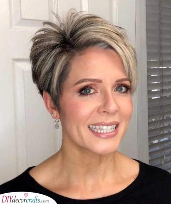 Fun and Short - Short Haircuts for Women over 50