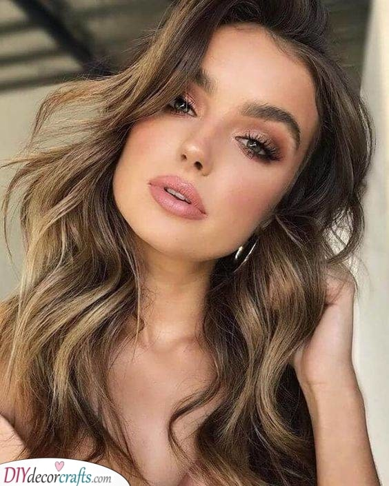 Adding Highlights - Simple Hairstyles for Long Hair