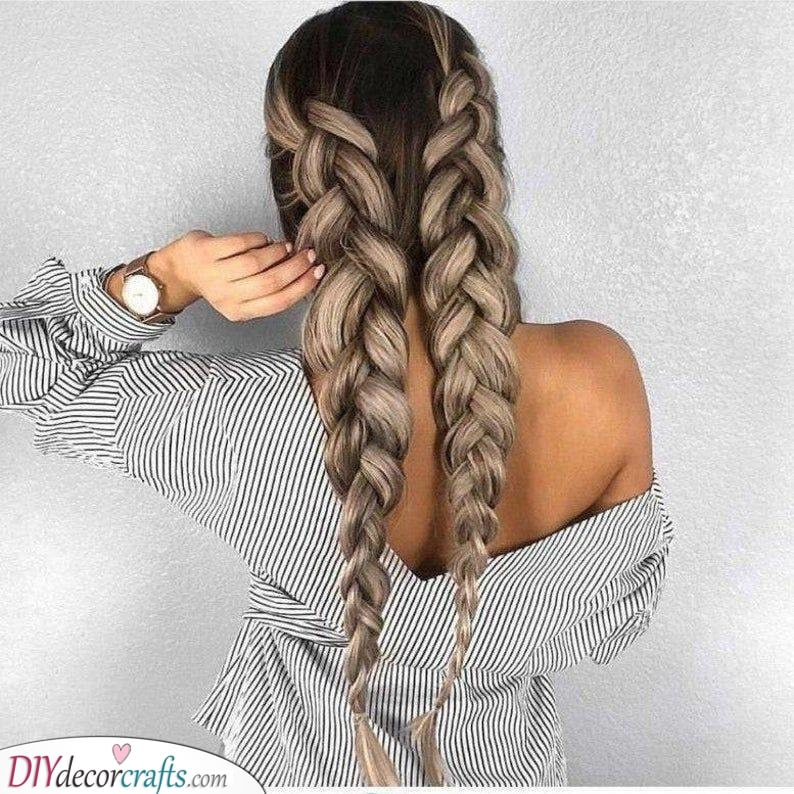 Large Braids - For a Cute and Stylish Look