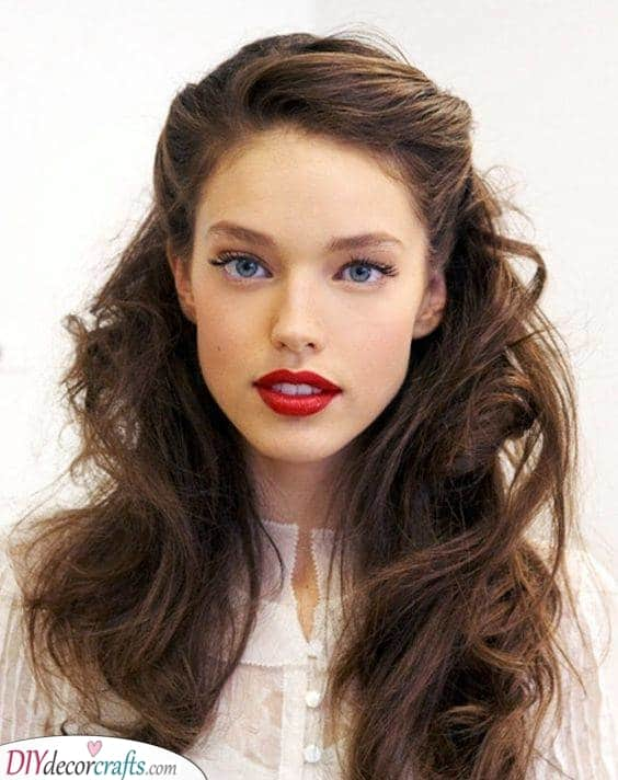 Half Up Half Down - Simple Hairstyles for Long Hair