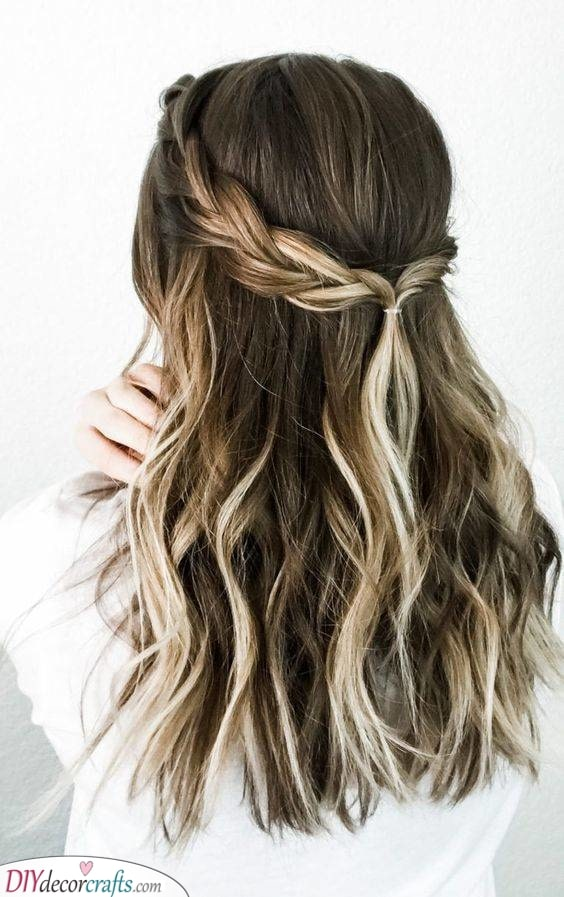 Braided Back - Brilliant and Beautiful