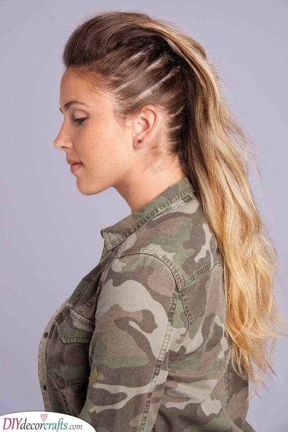 The Faux Hawk - Bold and Daring