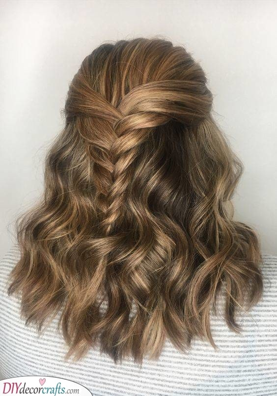 A Braid in the Back - Lovely and Elegant