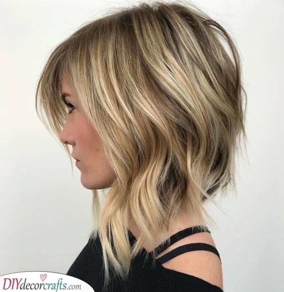 A Shaggy Bob - Hairstyles for Medium Length Hair
