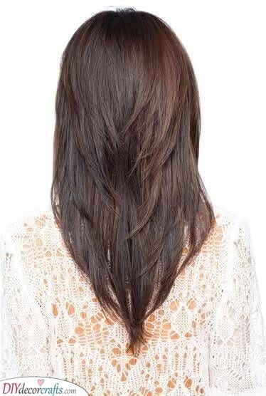 Feathered Layers - Haircuts for Medium Length Hair