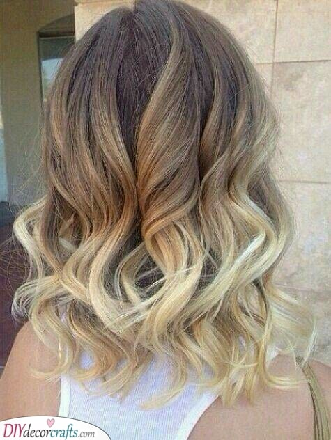 An Awesome Ombre - Shoulder Length Hairstyles