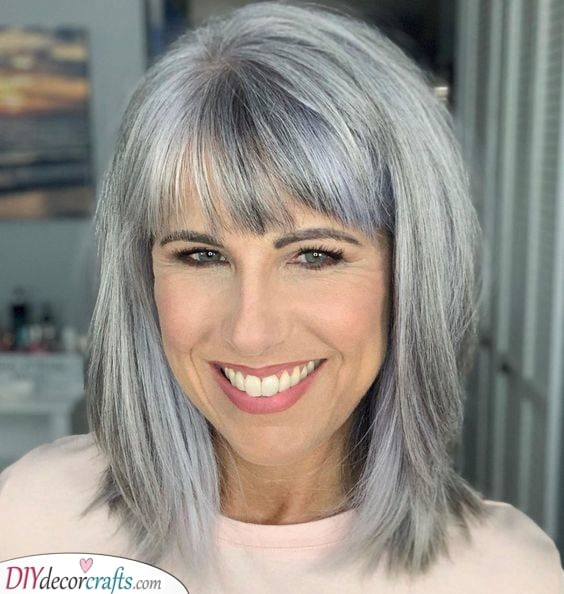 Natural is Best - Medium Haircuts for Women
