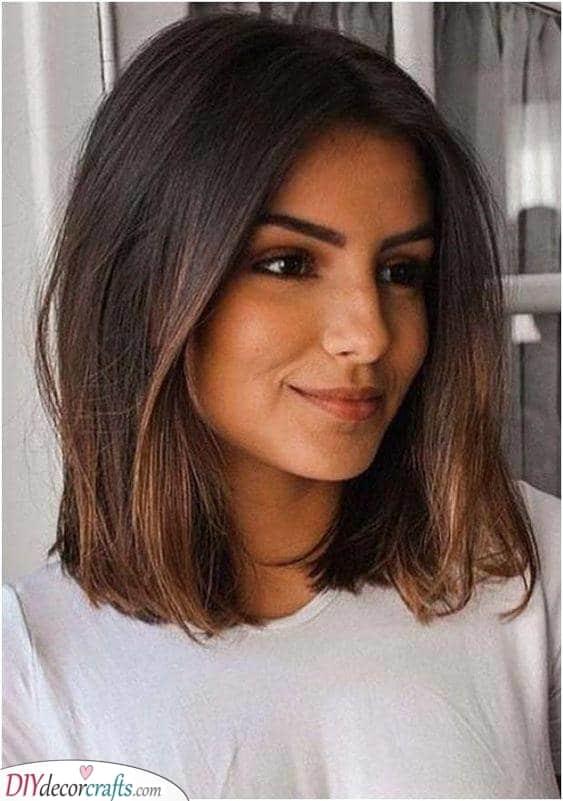 A Mid-length Bob - Medium Haircuts for Women