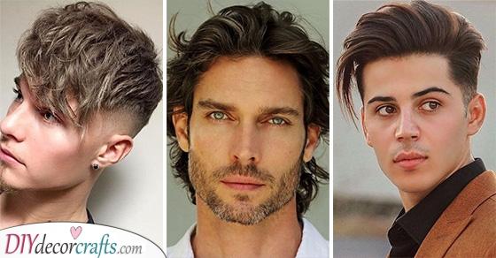 20 MENS MEDIUM HAIRSTYLES - Medium Long Haircuts Men