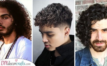 20 CURLY HAIRSTYLES FOR BOYS - Hairstyles for Boys with Curly Hair
