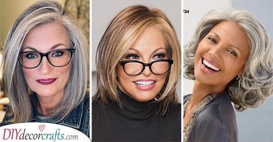 MEDIUM LENGTH HAIRSTYLES FOR WOMEN OVER 50 - Medium Length Hairstyles for Older Women