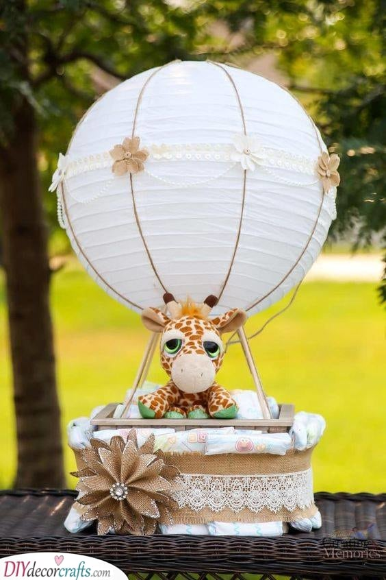 Another Diaper Cake - Personalized Baby Gifts