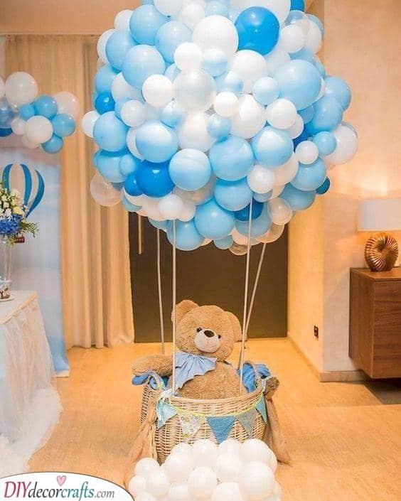 A Hot Air Balloon - Cute and Inventive