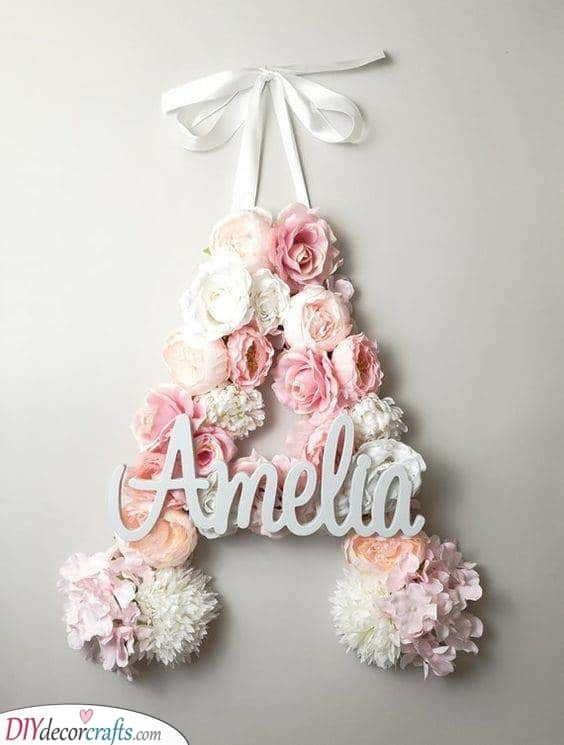 A Letter of Their Name - Best Baby Shower Gifts