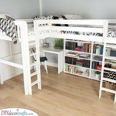 Another Loft Bed - Small Bedroom Ideas for Girls