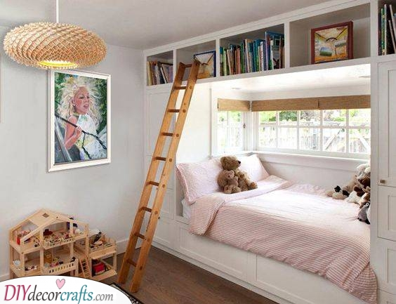 A Gorgeous Design - Small Bedroom Ideas for Girls