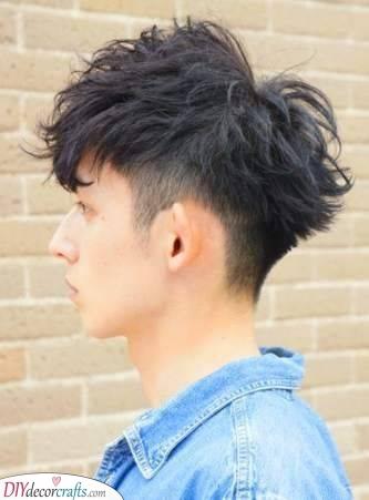 A Unique Haircut - Men's Medium Hairstyles