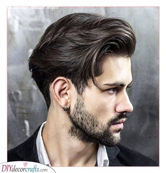 A Classic Taper - Men's Medium Hairstyles