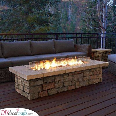 Fire Pit Table - Elegant and Refined