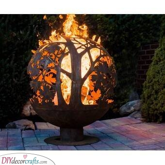 A Ball of Fire - Unique and Creative