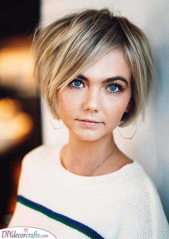 A Dazzling Bob - Short Hairstyles for Women