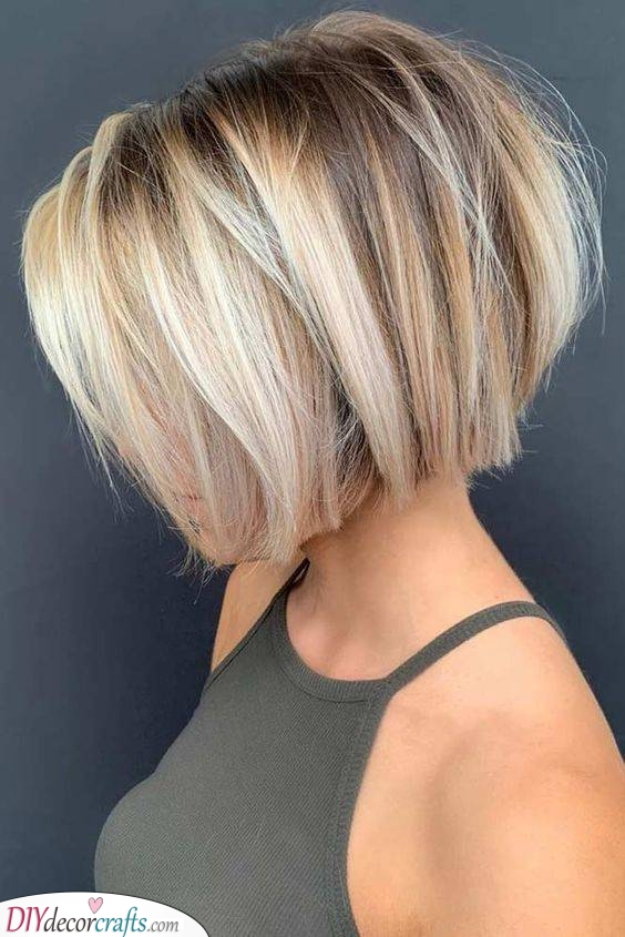 The Classic Bob - Stunning and Classy