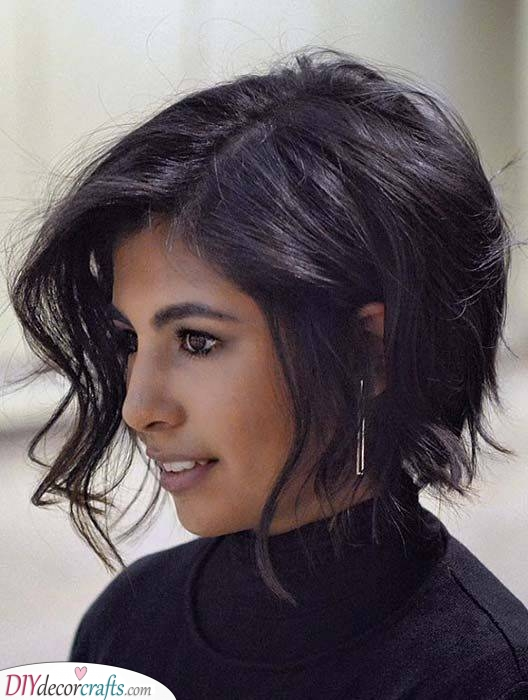 Adding Loose Waves - Short Hairstyles for Women