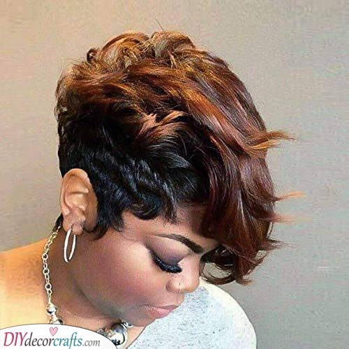 A Faux Hawk - Short Hairstyles for Women