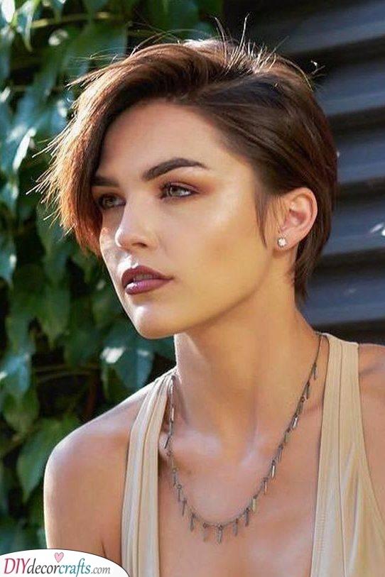 A Long Pixie - Short Haircuts for Women
