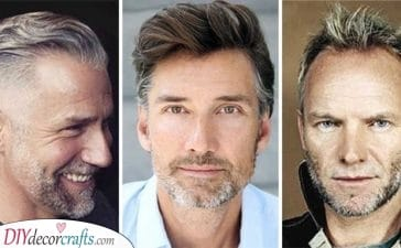 20 HAIRSTYLES FOR MEN OVER 50 - Haircuts for Men Over 50