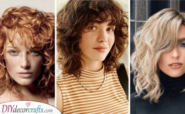 20 MEDIUM LENGTH HAIRCUTS FOR CURLY HAIR - Medium Length Curly Hair