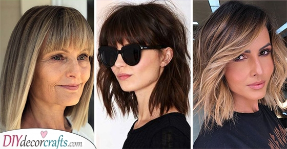 20 SHOULDER LENGTH HAIRSTYLES FOR THIN HAIR - Medium Length Haircuts for Thin Hair
