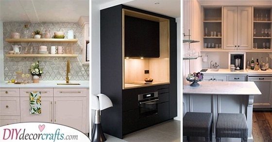 20 SMALL KITCHEN CABINET IDEAS - Kitchen Ideas for Small Spaces