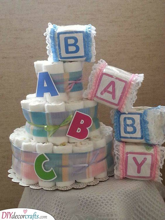 Learning the Alphabet - Add Some Letter Blocks