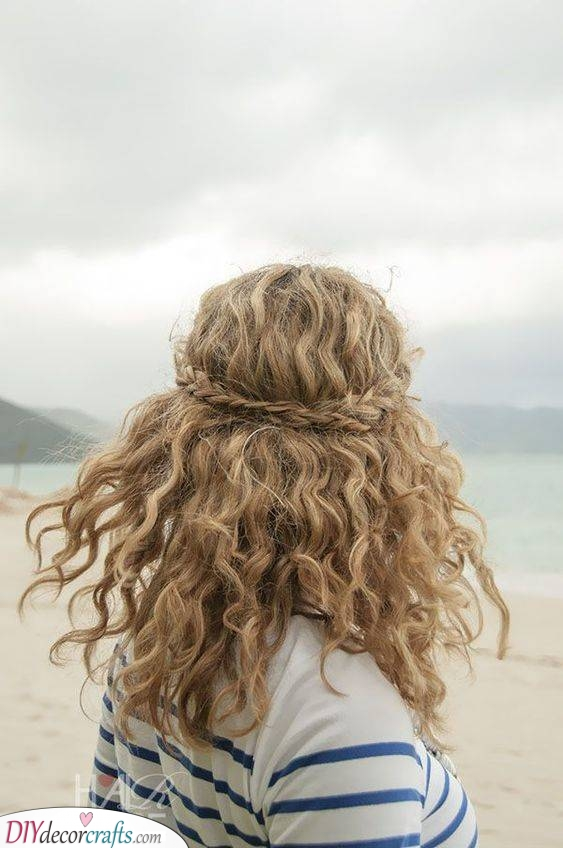 Braided at the Back - Natural and Gorgeous