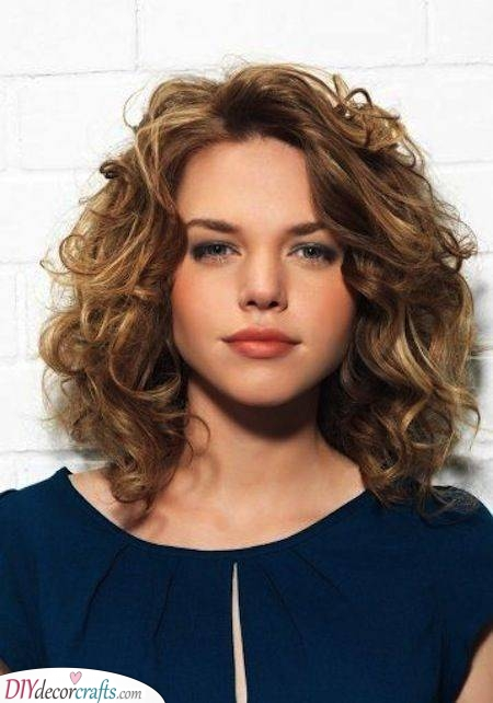 Big and Beautiful Curls - Shoulder Length Curly Hair