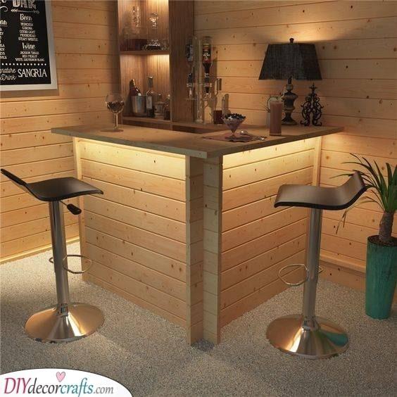 An Intimate Setting - Wonderful in Wood