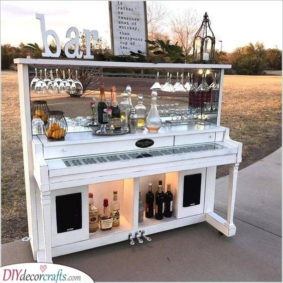 Transform an Old Piano - Innovative and Creative