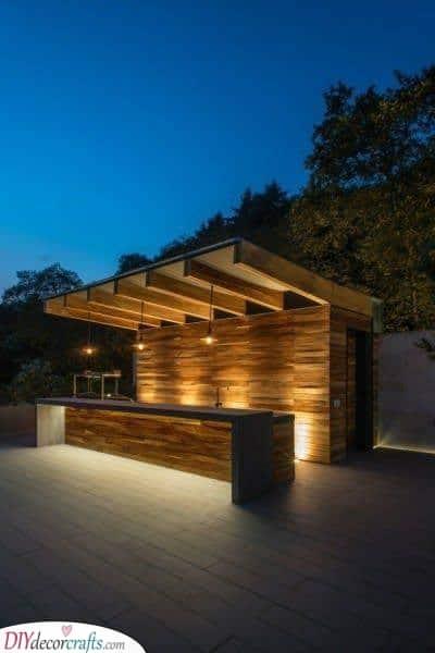 Modern and Stylish - Garden Bar Ideas