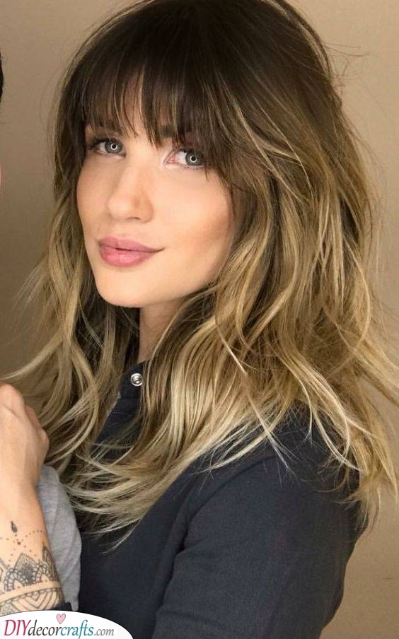 A Fun Balayage - Trendy and Attractive