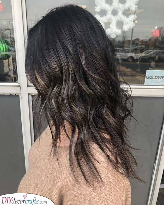 Soft and Loose Waves - A Glamorous Style