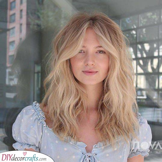 Wispy and Romantic - Haircuts for Thin Long Hair