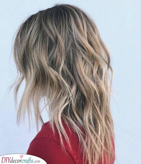 A Long Shag - Haircuts for Thin Long Hair