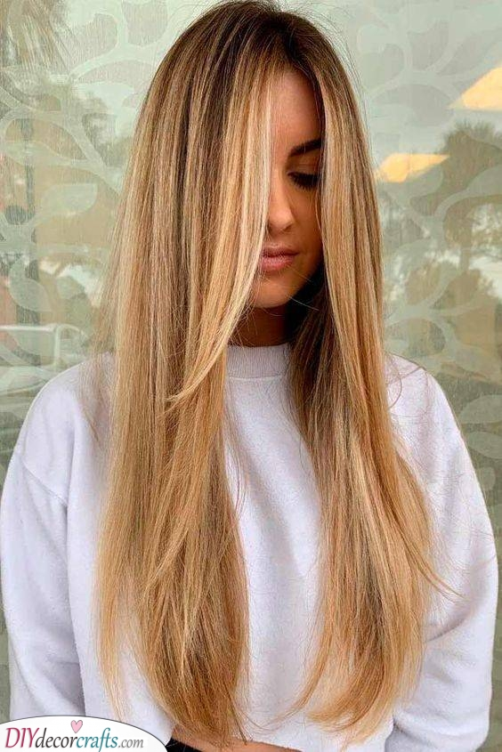 Long and Layered - Hairstyles for Long Fine Hair