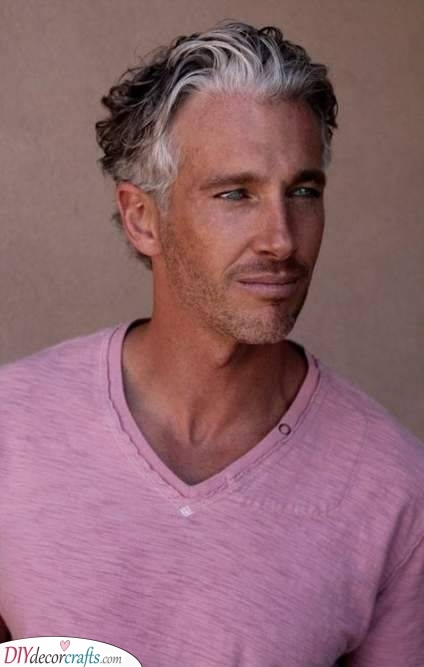 Short and Soft Waves - Haircuts for Men over 50
